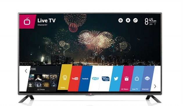 Smart TV chạy nền tảng WebOS của LG.