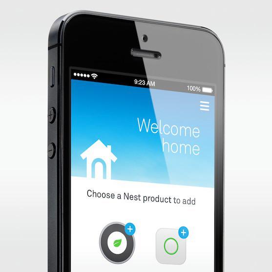 Ứng dụng trên iPhone giúp điều khiển máy báo khói Nest.