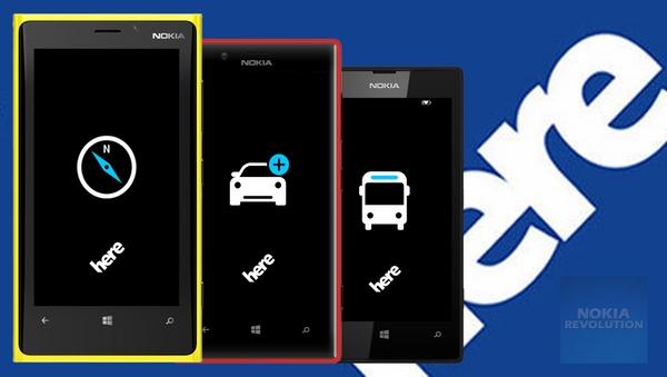 Bản đồ HERE vẫn là lựa chọn lí tưởng cho các smartphone tích hợp HĐH Windows Phone