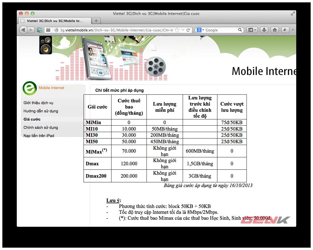 Người dùng kêu than, Viettel mở lại gói cước Dcom 3G không giới hạn