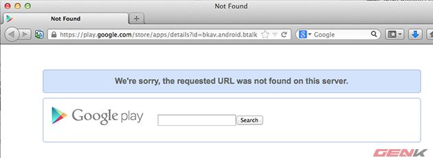 Tuy nhiên hiện tại ứng dụng đã bị gỡ, đồng thời trang chủ Btalk.vn không thể truy cập.