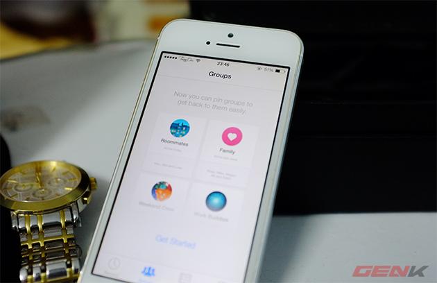 Facebook Messenger trên iOS cho phép tạo nhóm, chuyển tiếp tin nhắn