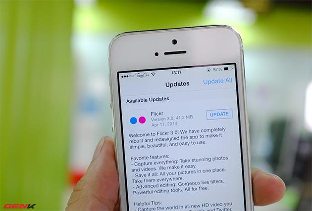 Dùng thử Flickr hoàn toàn mới trên iOS, Android: Thiết kế đẹp, tải ảnh nhanh