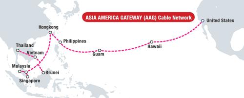 Khu vực trên biển Đông dù có chiều dài ngắn nhưng liên tục gặp sự cố trong khi tuyến cáp từ Hong Kong đến Mỹ lại rất ổn định.
