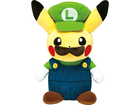 Có cả phiên bản của em trai Luigi - Luigi Pikachu