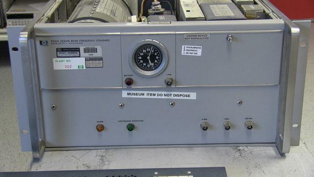 Chiếc đồng hồ sử dụng trong thí nghiệm Hafele-Kieting