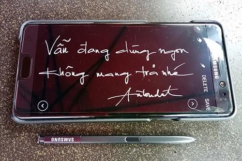 Anh Nguyễn Vũ Đạt - một người dùng cương quyết không trả lại Note7