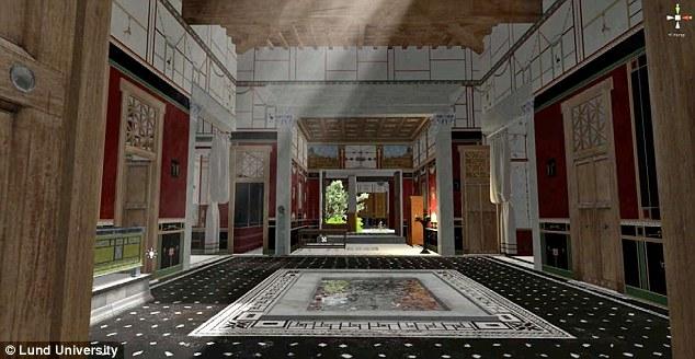 Công nghệ 3D mô phỏng một cách chi tiết bên trong một ngôi nhà