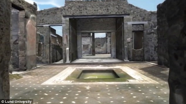 Nước đóng một vai trò quyết định trong phân định thứ bậc xã hội ở Pompeii