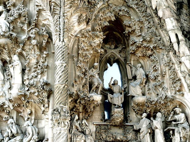 Một phần khác của Sagrada Familia