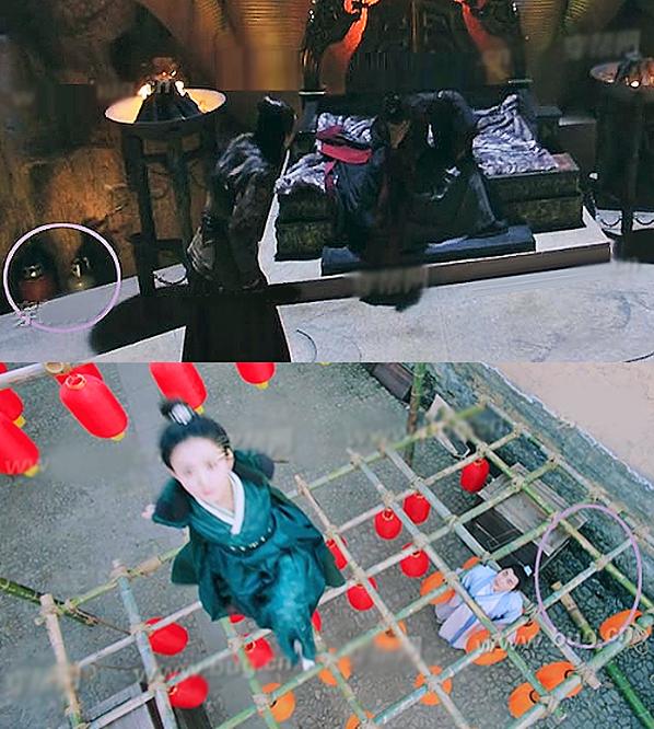 Phim Tru Tiên: Thanh Vân Chí không tránh khỏi được những hạt sạn đáng tiếc trong khâu tạo dựng bối cảnh.