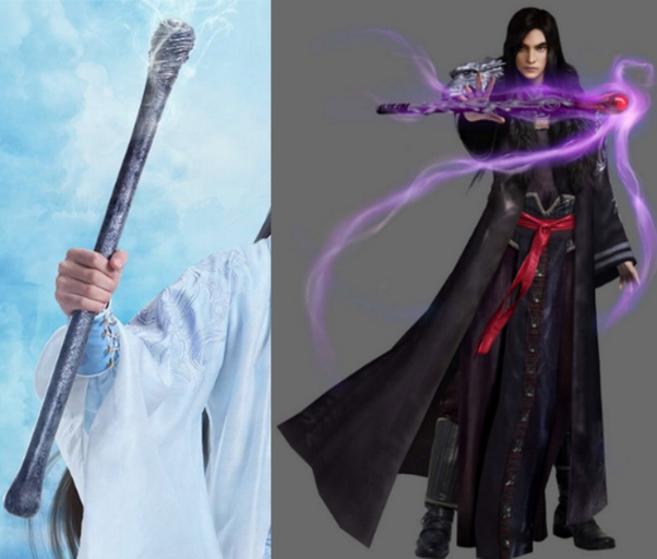 Nhiều người chê bai tạo hình Phệ Hồn Bổng trong phim Tru Tiên: Thanh Vân Chí còn thua xa cả một... khúc xương chó.