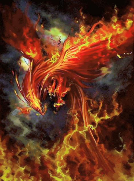 Hình tượng về thần thú Hoàng Điểu được miêu tả trong bộ tiểu thuyết gốc Tru Tiên.