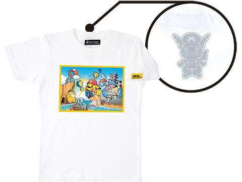 Và cả áo phông Mario Pikachu nữa