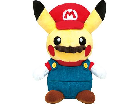Thú nhồi bông Mario Pikachu