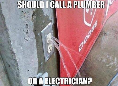 Gọi thợ điện hay thợ nước?