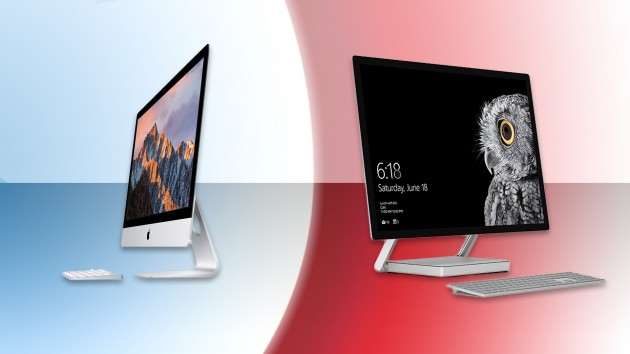 iMac thường được đem ra so sánh với Surface Studio