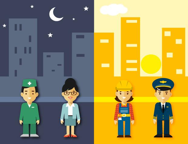 Người thức khuya và người dậy sớm sẽ làm việc hiệu quả nhất vào mấy giờ?