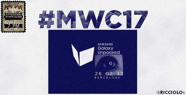Galaxy S8 có thể sẽ được ra mắt trong sự kiện Unpacked tháng 2.