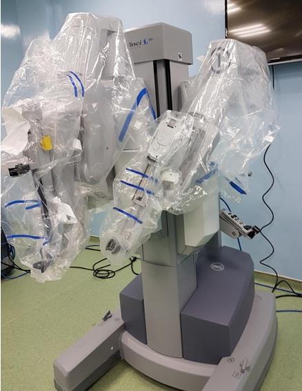 Robot phẫu thuật nội soi đã sẵn sàng cho ca phẫu thuật đầu tiên tại BV Bình Dân