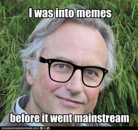 Richard Dawkins - người đặt ra khái niệm meme
