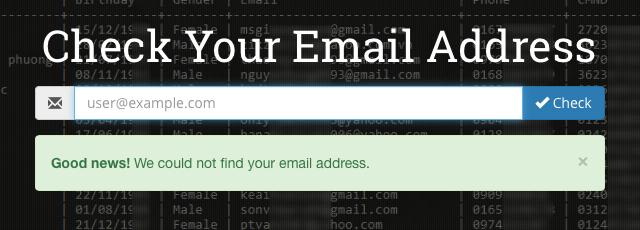 Sử dụng website để kiểm tra xem thông tin cá nhân của mình có an toàn hay không.
