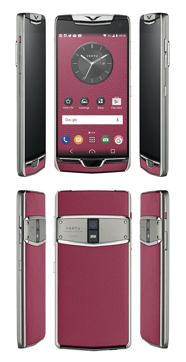 Vertu trình làng phiên bản 2017 của dòng smartphone siêu sang Constellation, màn 2K, sạc không dây, cổng USB-C - Ảnh 6.
