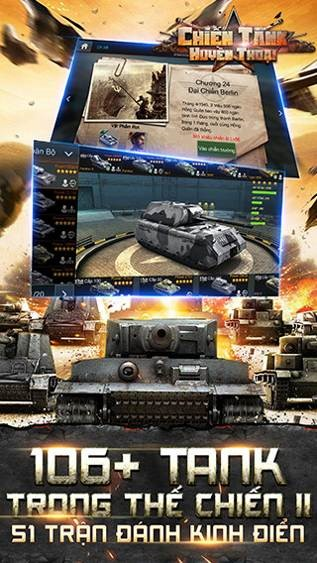 Hơn 106 xe tăng để người tha hồ chơi chọn lựa