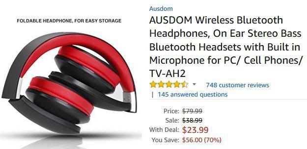 [Black Friday] Những mẫu tai nghe cực đáng mua đang được giảm giá cực mạnh trên Amazon - Ảnh 1.
