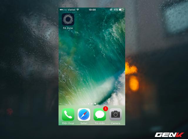 Thế là xong, icon của ứng dụng mà chúng ta vừa tạo sẽ xuất hiện ở Màn hình chính của thiết bị. Khi nhấp vào đó, tác vụ mà bạn thiết lập trước đó sẽ khởi chạy.
