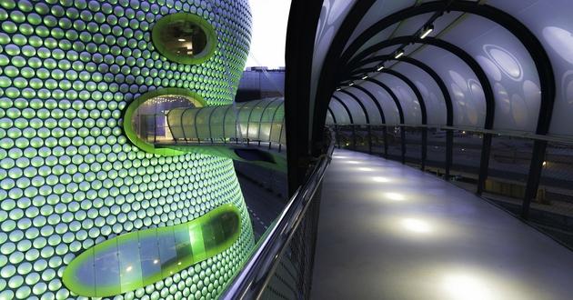 Selfridges Building ở Birmingham được thiết kế bở KTS Future Systems
