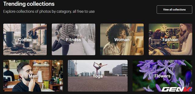 Tất cả ảnh điều được cấp giấy phép Creative Commons Zero nên bạn hoàn toàn có thể làm bất cứ điều gì với chúng mà không cần phải bỏ ra bất cứ phí bản quyền nào.