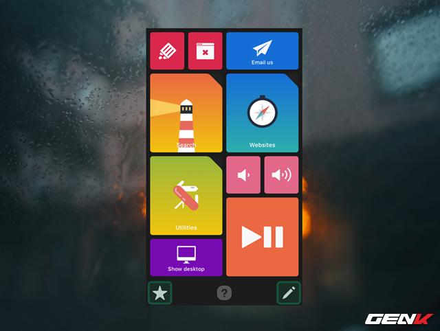 Thế là xong, giờ bạn đã có một chiếc Touch Bar mini dùng để thao tác kết hợp với máy tính rồi đấy. Tùy theo phần mềm ứng dụng mà bạn đang mở trên máy tính mà màn hình Quadro trên thiết bị sẽ hiển thị các biểu tượng thao tác tương ứng.