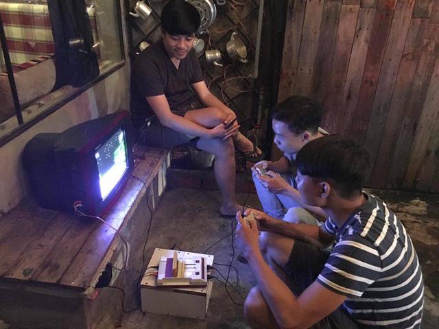 Thuở bấy giờ, những quán điện tử 4 nút cùng với các list game được viết tay hết sức phổ biến ở Việt Nam