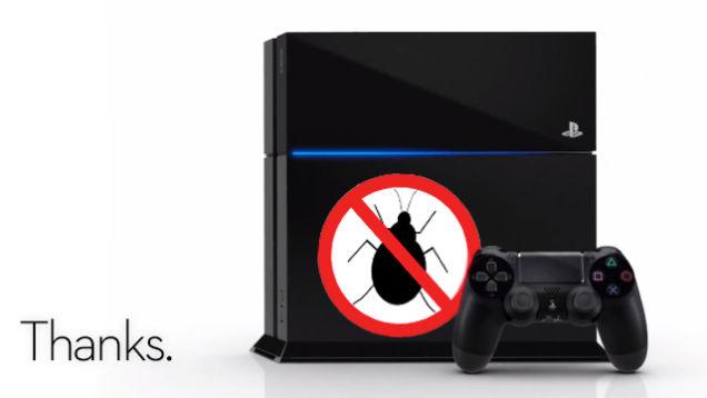 Chính sách của Sony là không nhận sửa những thiết bị đã bị ảnh hưởng bởi côn trùng.