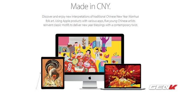 """Đầu tiên, bạn hãy tải về gói ảnh nền được cung cấp bởi Apple trong sự kiện """"Made in CNY"""" diễn ra thời gian qua tại Thượng Hải, với sự hợp tác giữa Apple và 5 nghệ sĩ trẻ để sáng tạo ra những bức tranh đậm chất nghệ thuật nhằm chào đón dịp Tết Âm Lịch sắp tới bằng cách sử dụng các thiết bị của Apple như MacBook Pro, iMac, iPad và Apple Pencil để sáng tác. Bạn đọc có thể tham khảo và tải về tại đây."""