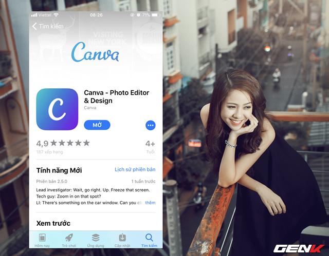 Không cần phải dùng đến photoshop hay máy tính, bạn vẫn có thể sáng tạo ra các logo, danh thiếp cực chất và chuyên nghiệp ngay trên điện thoại - Ảnh 2.