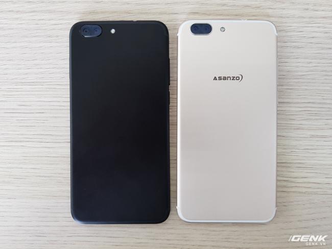 Z5 có hai lựa chọn màu là vàng và đen.