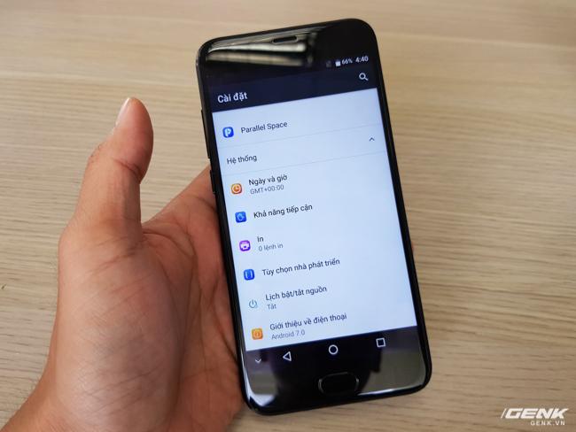 Chạy trên nền Android 7.0