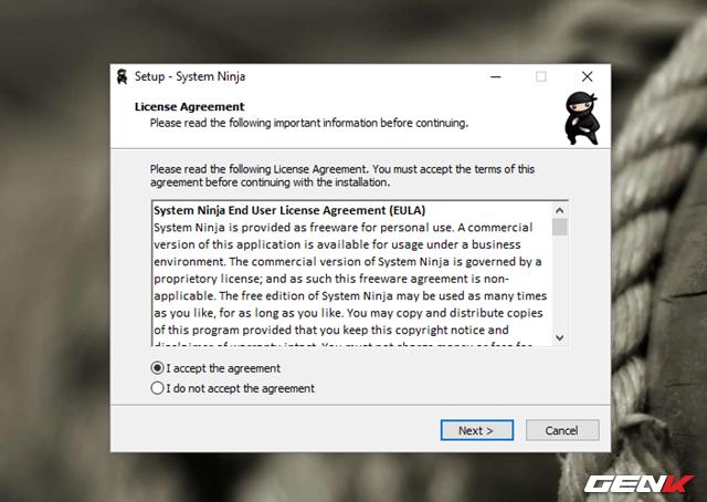Sau khi tải về, bạn hãy khởi chạy gói tin để tiến hành cài đặt phần mềm.