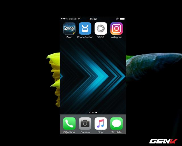 Sau khi tải về, bạn hãy khởi động ứng dụng thông qua biểu tượng ở Homescreen.