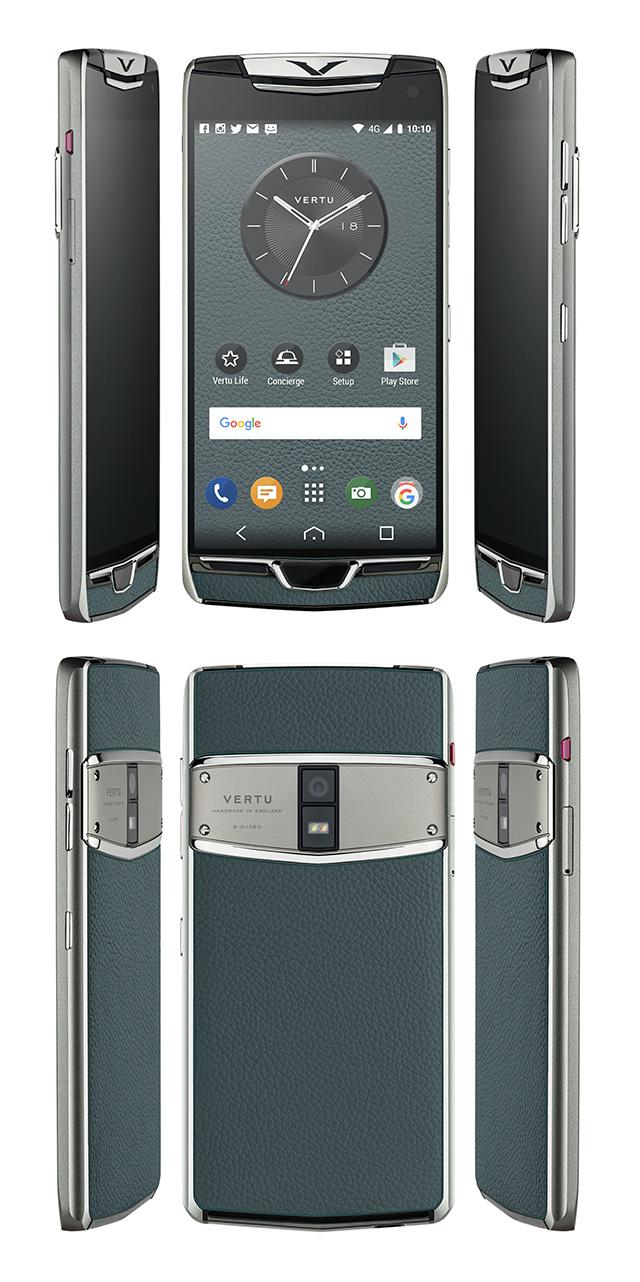 Vertu trình làng phiên bản 2017 của dòng smartphone siêu sang Constellation, màn 2K, sạc không dây, cổng USB-C - Ảnh 5.