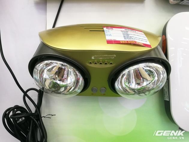 Chiếc đèn sưởi hồng ngoại 2 bóng này của hãng Sunhosue lại có giá lên đến 1 triệu.