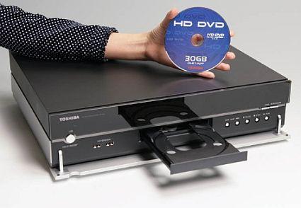 Đầu đĩa DVD đầu tiên trên thế giới, HD-XA1 của Toshiba.