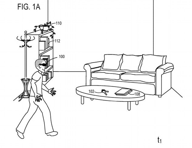 Hình ảnh trong bằng sáng chế của Microsoft
