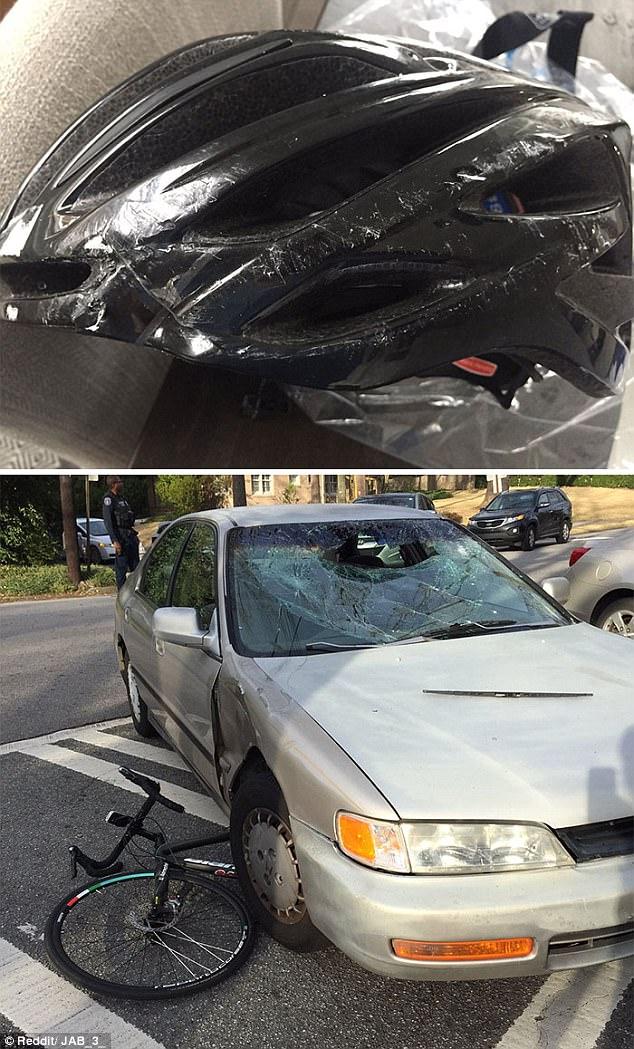 Chính xác thì mũ bảo hiểm, xe cộ... đắt tiền tới đâu cũng có thể thay được, còn mạng người thì không...