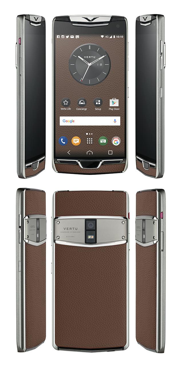 Vertu trình làng phiên bản 2017 của dòng smartphone siêu sang Constellation, màn 2K, sạc không dây, cổng USB-C - Ảnh 4.