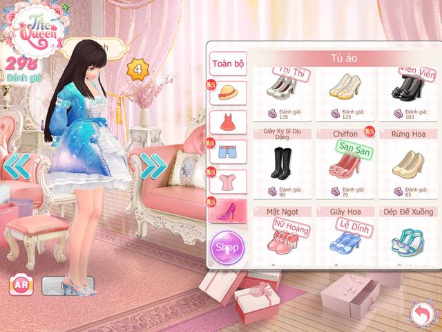 """Trang phục trong game rất đa dạng, giúp người chơi thỏa sức """"mix"""" ra những bộ đồ ấn tượng nhất"""