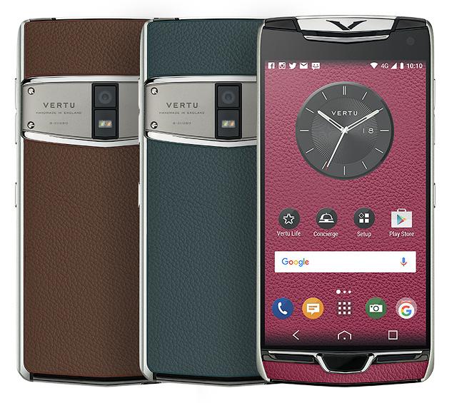 Vertu trình làng phiên bản 2017 của dòng smartphone siêu sang Constellation, màn 2K, sạc không dây, cổng USB-C - Ảnh 2.