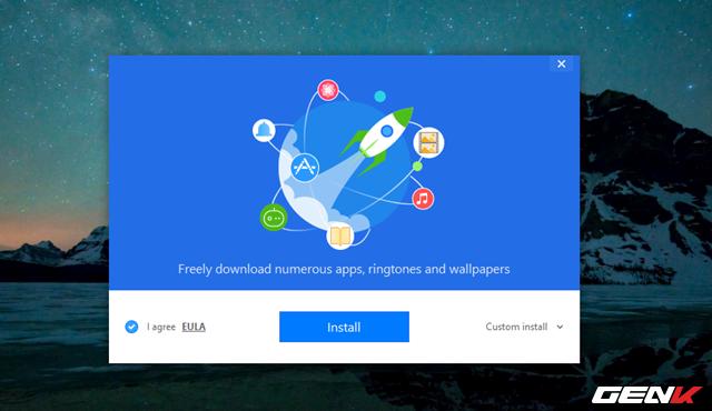 Bước 1: Truy cập vào địa chỉ này để tải về và cài đặt 3uTools lên Windows.